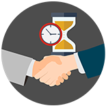 Clapstick Media provides a On-Time delivery guarantee on Explainer Videos, Animation and Web Design projects.